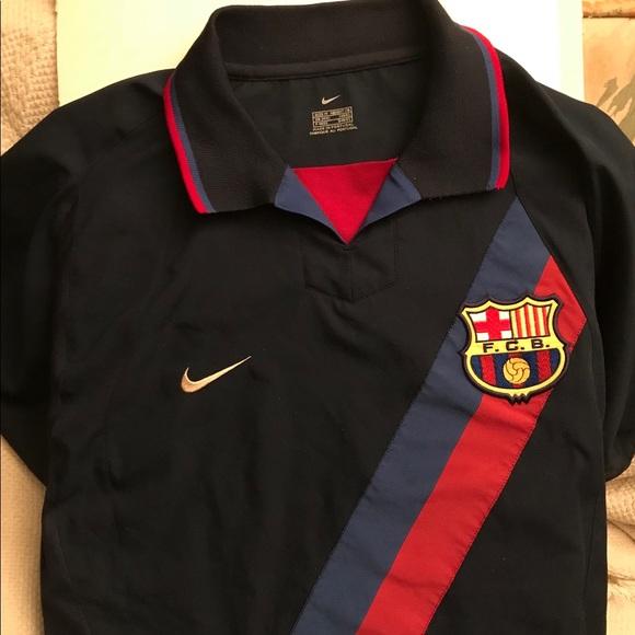 829c6dd2a Vintage Authentic Nike Barcelona Kit 2002 03. M 5b2b46ebfe5151c7f2f6b678